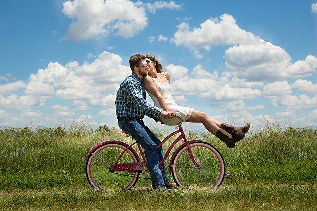 Zakochani na rowerze